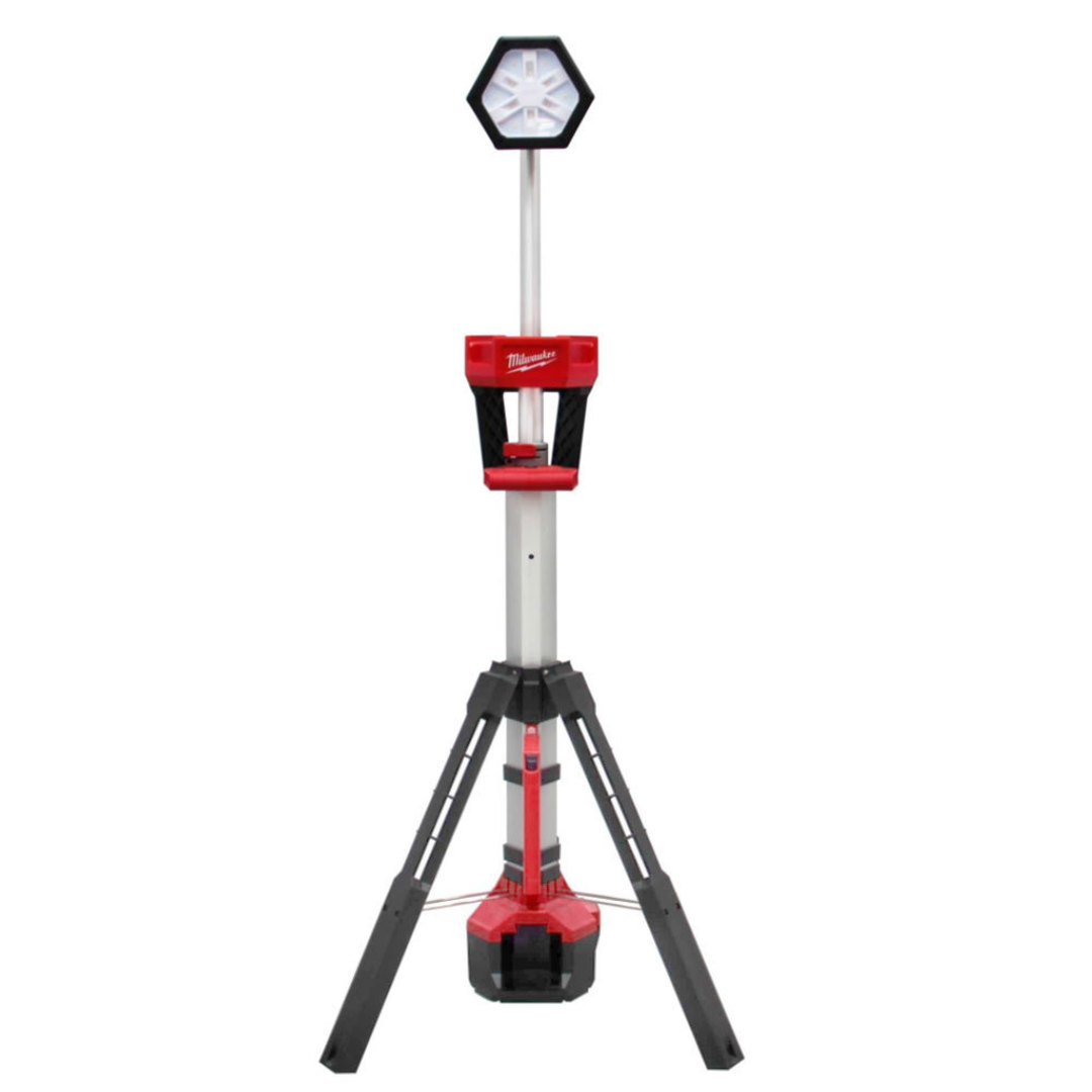 Milwaukee M18DSAL-0 Dual Powered LED Stand Light Skin image 0