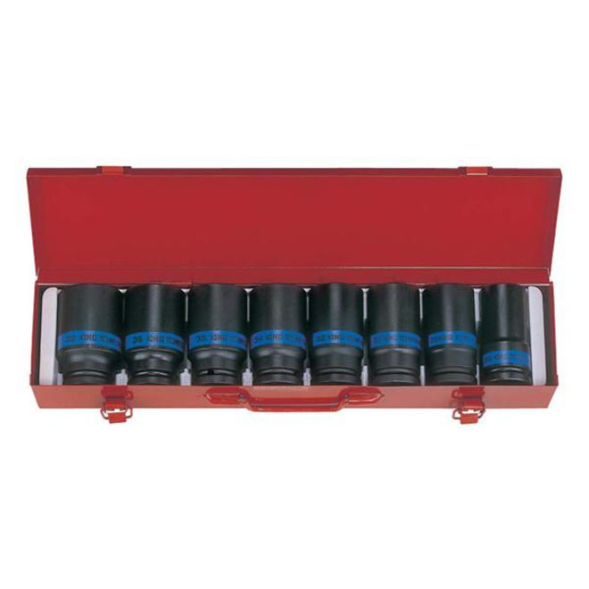 "King Tony 3/4""Dr 8pc Deep Impact Socket Set image 0"