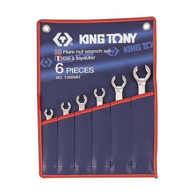 King Tony 6pt Flare Nut Wrench Set 8-22mm image 0