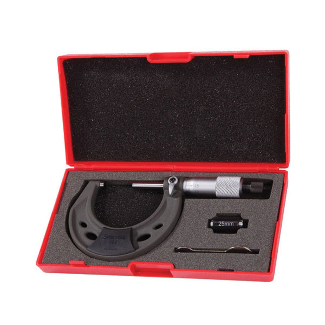 Starrett Micrometer Outside 0-25mm image 0