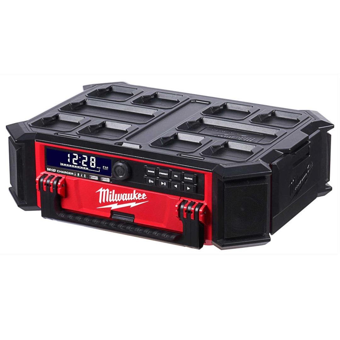 Milwaukee M18PORC-0 Packout Radio/Charger Skin image 0