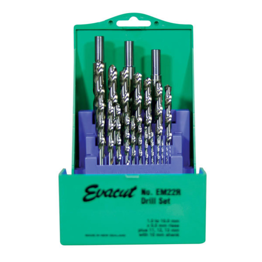 Evacut Drill Set Metric 22pc EM22R image 0