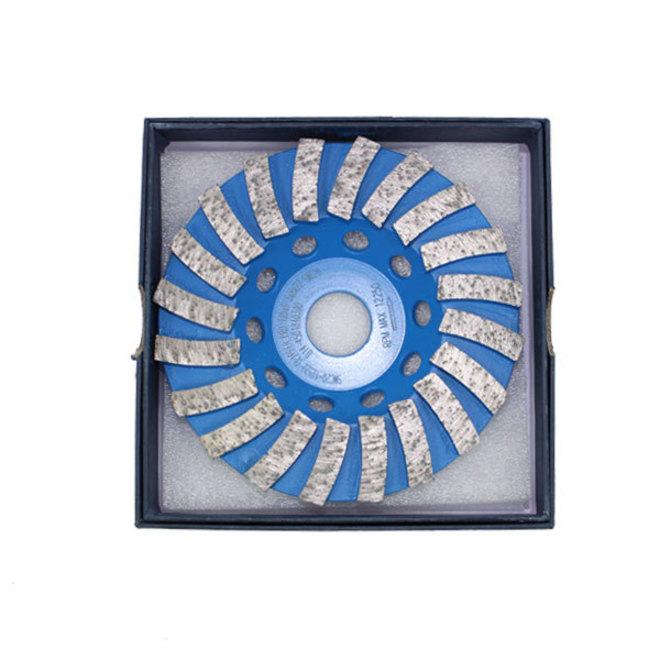Clipper Diamond Swirl Cup Grinding Wheel image 0