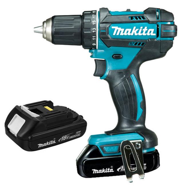 Makita DDF482SYE Cordless 18V Drill Kit 1.5Ah Batteries image 0