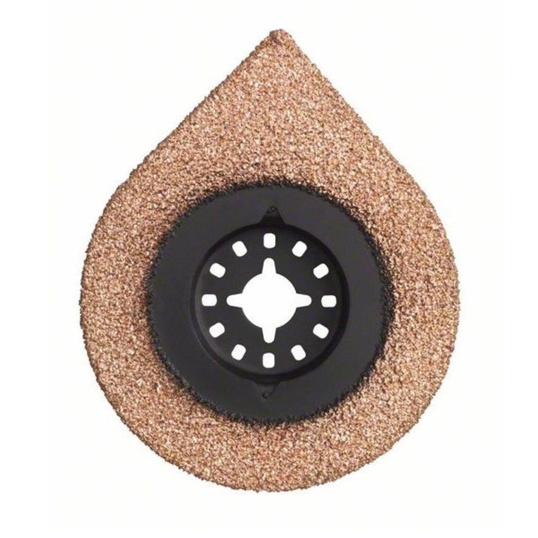 Bosch Segment 70mm Sanding Plate HM-RIFF - AVZ 70 RT image 0