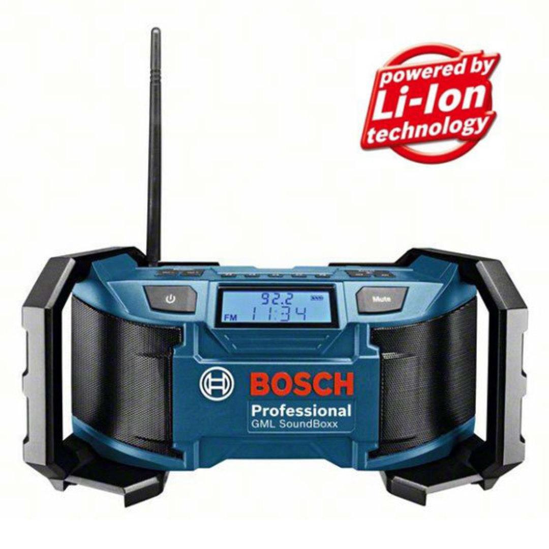 Bosch SoundBoxx Cordless Radio - GML 18 V-Li image 0
