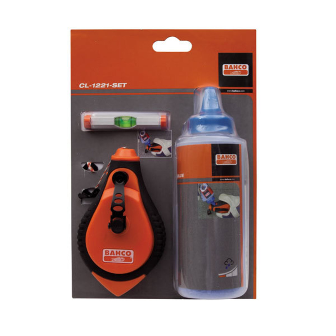 Bahco Chalk Line & Level Set image 0