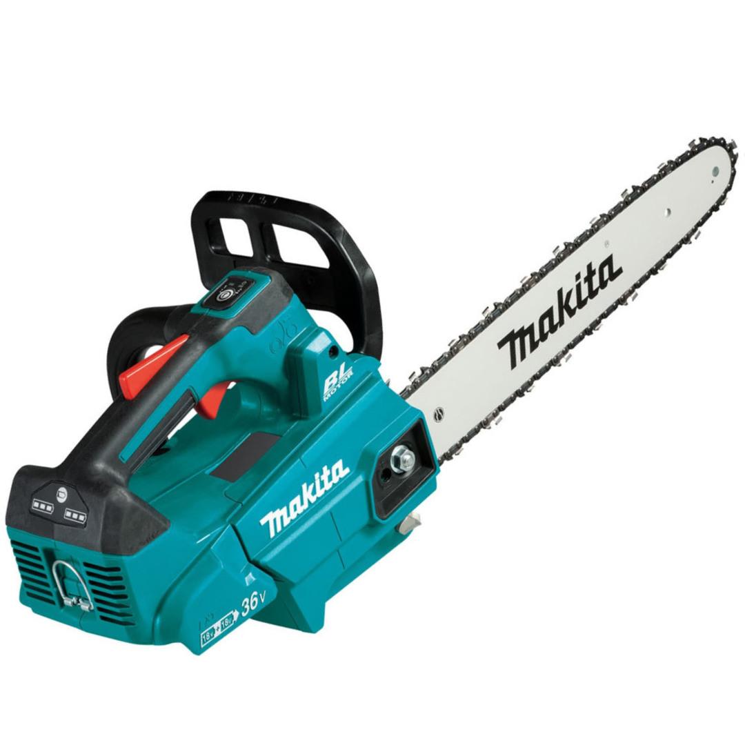 "Makita DUC356PT2 18Vx2 (36V) Brushless 14"" Top Handle Chain Saw Kit (5.0Ah) image 0"