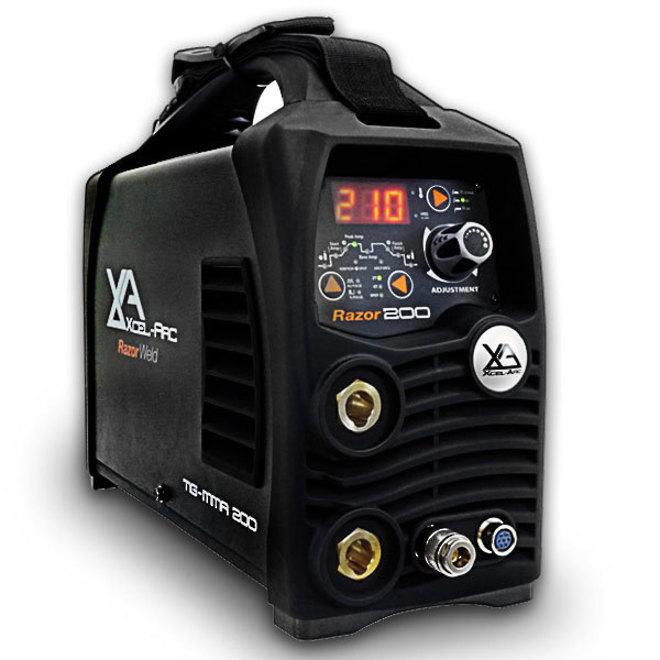 RazorWeld TIG200 HF TIG/MMA DC Inverter Welder image 0