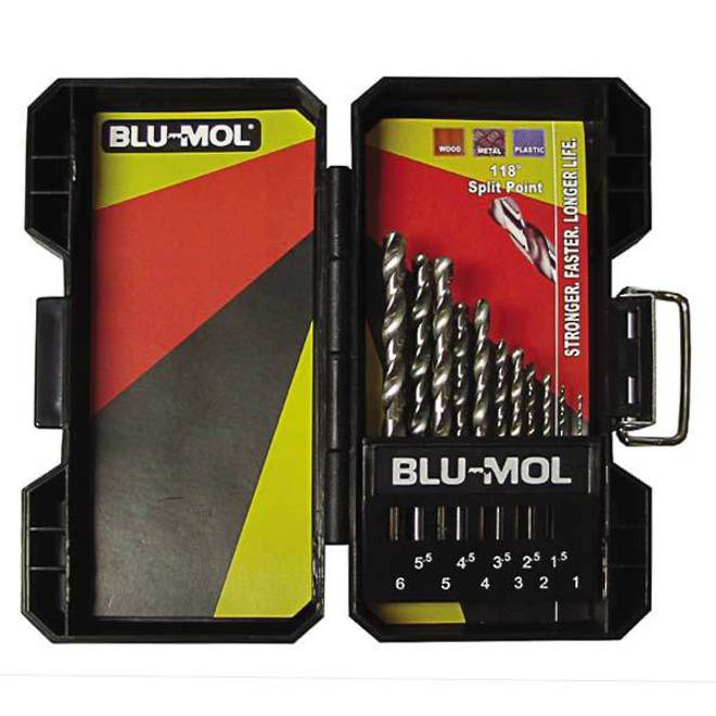 Blumol 11pc Drill Set 1 - 6mm image 0