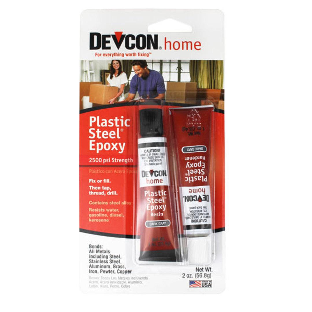 Devcon Plastic Steel Epoxy 2-Tube 56.8g image 0