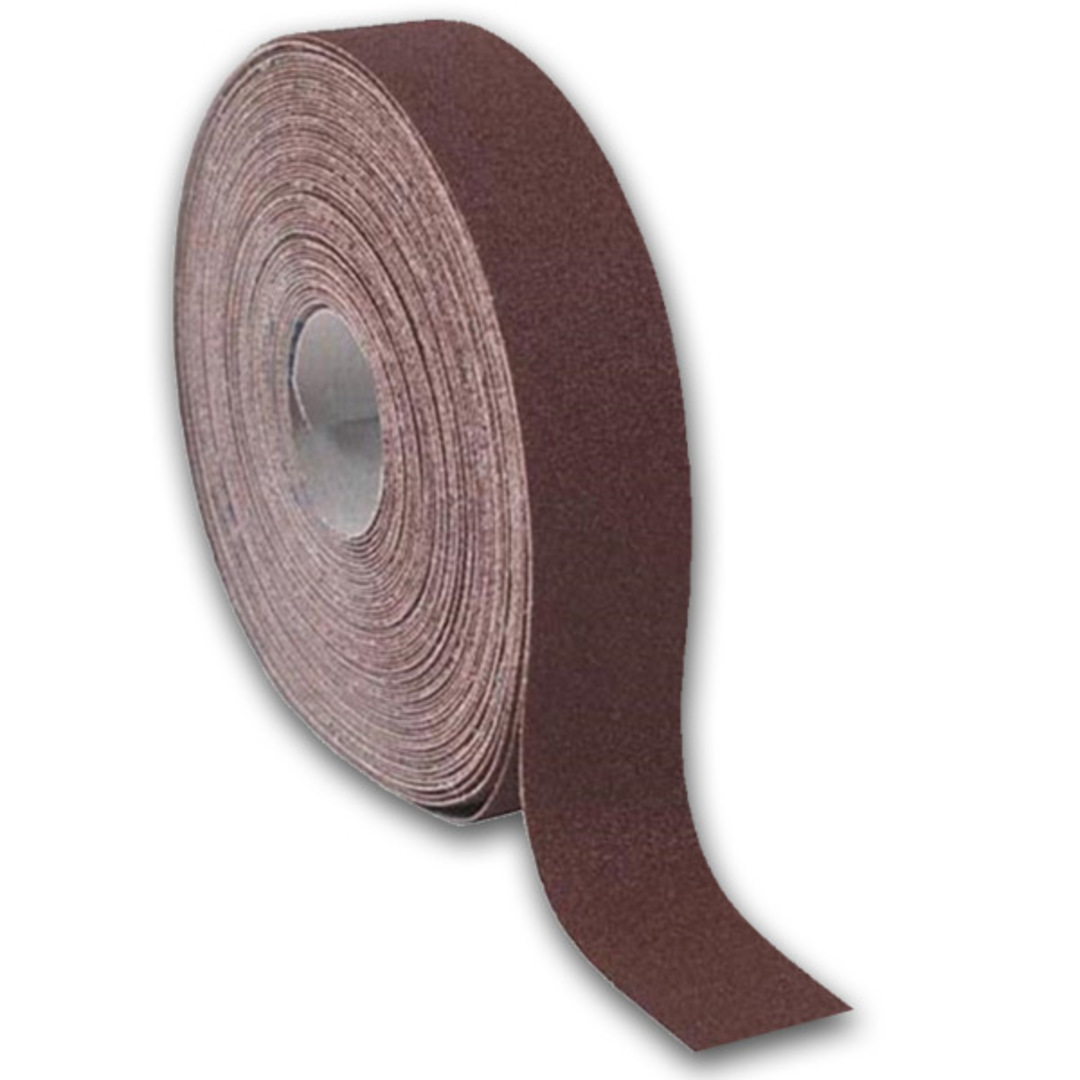 Emery Cloth Roll, 180 Grit 40mm x 50m image 0