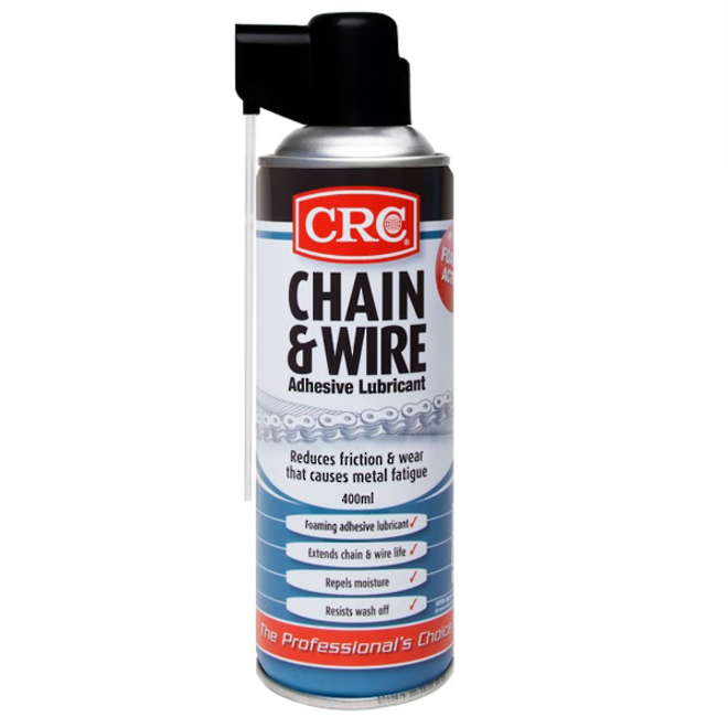 Chain & Wire Lubricant 400ml CRC image 0