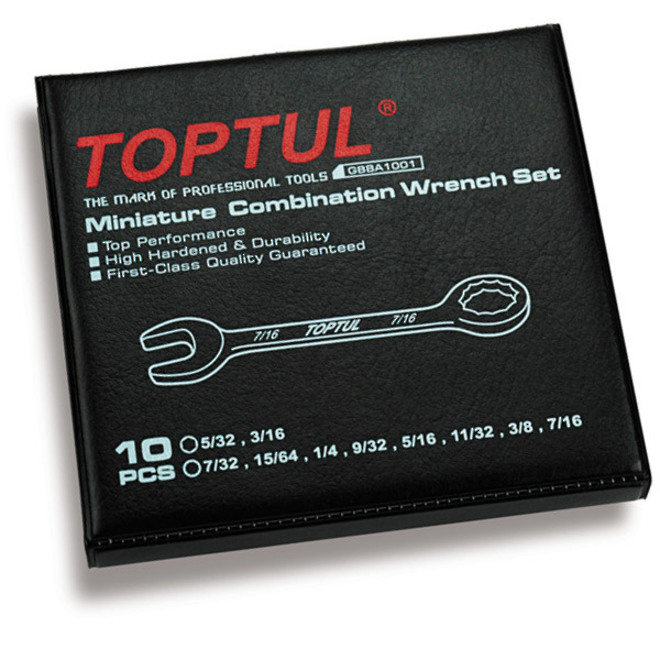 TopTul 10pc Ignition Wrench Set Imperial image 0