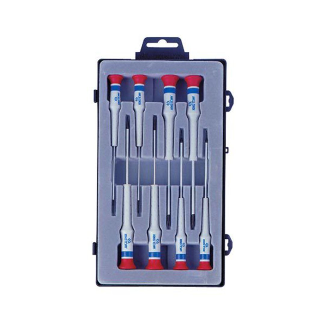 King Tony 8pc Precision Screwdriver Set image 0