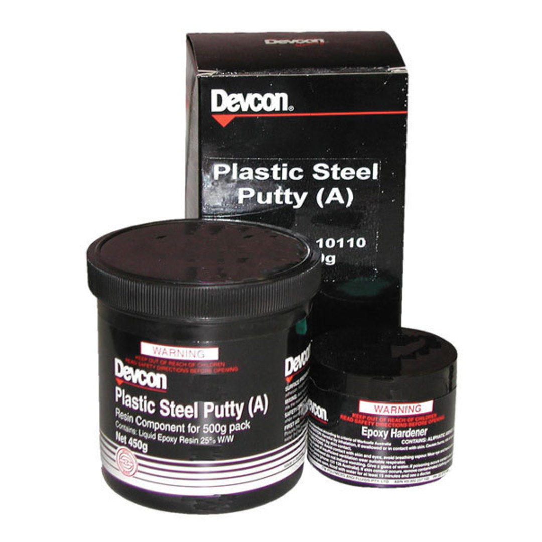 Devcon Plastic Steel Putty 500g image 0