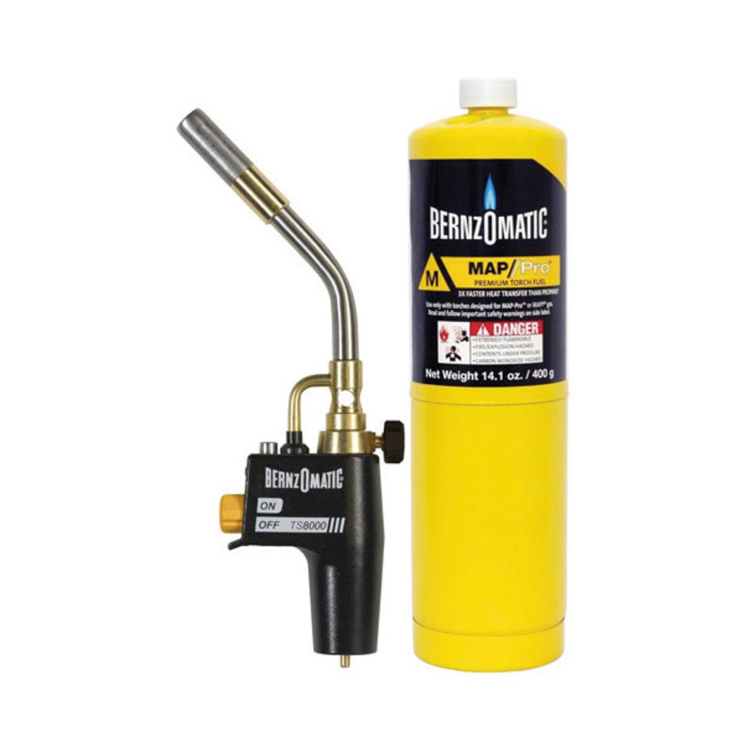 Bernzomatic Torch Kit Mappgas image 0