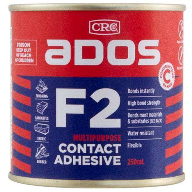 F2 Contact Adhesive 250ml Ados image 0