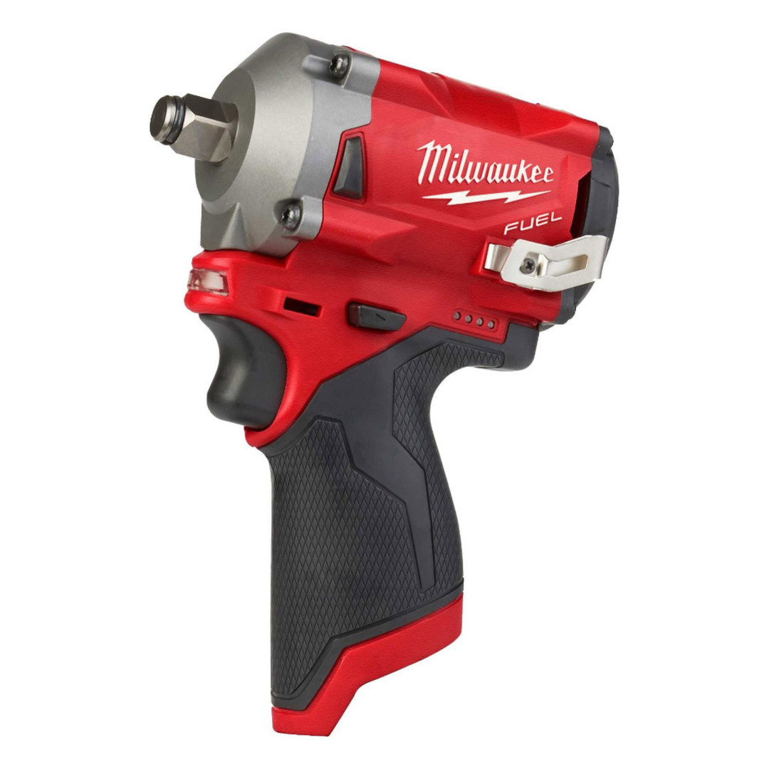 "Milwaukee M12FIWF12-0 1/2"" Stubby Impact Wrench Skin image 0"