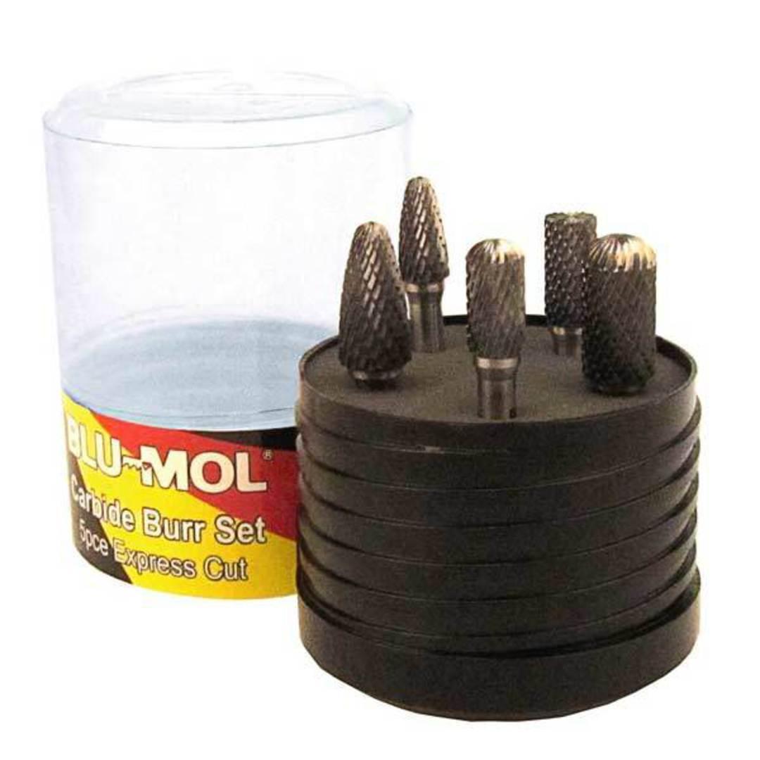 Blumol Carbide Burr Set 5pc image 0