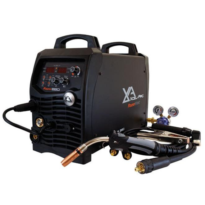 RazorWeld MIG250D Digital MIG/MMA/TIG Inverter Welder image 1