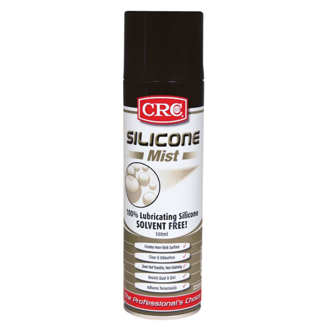 Lubricant Silicone Mist 500ml CRC image 0