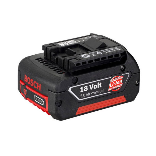 Bosch 3.0Ah 18v Lithium Ion Battery image 0