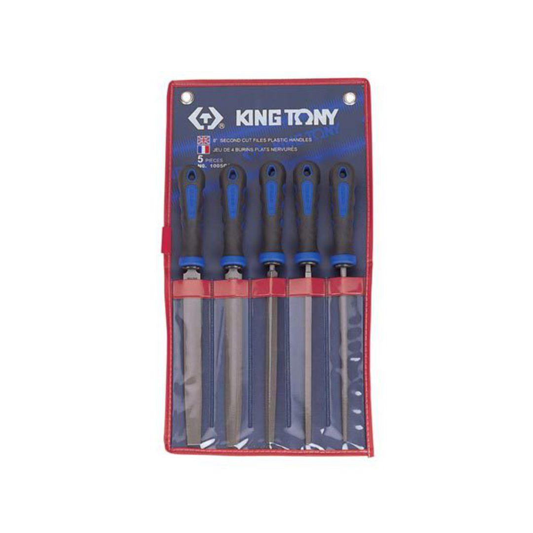 "King Tony 5pc 8"" 2nd Cut File Set image 0"