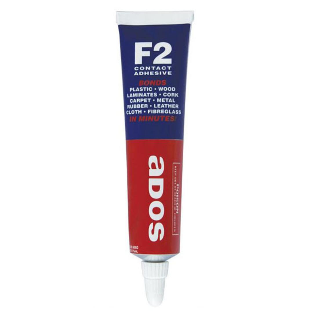 F2 Contact Adhesive 75ml Ados image 0