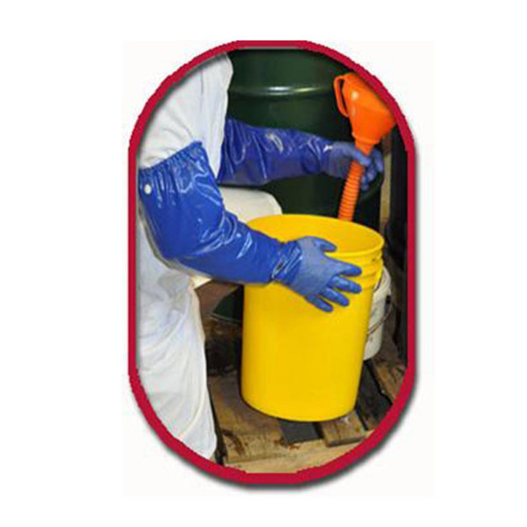 Long Nitrile Gauntlet Large (Chemicals) image 0