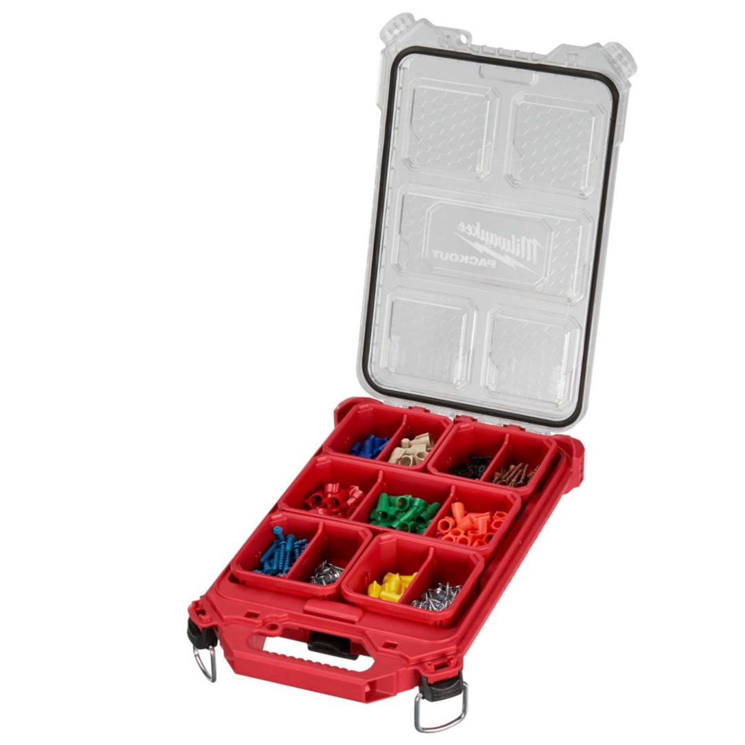 Milwaukee PACKOUT Low-Profile Compact Organiser image 0