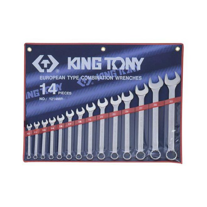 King Tony 14pc R&OE Wrench Set 10-32mm image 0