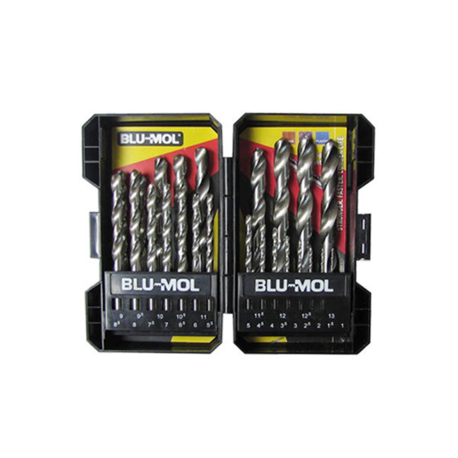 Blumol 25pc Drill Set 1 - 13mm image 0