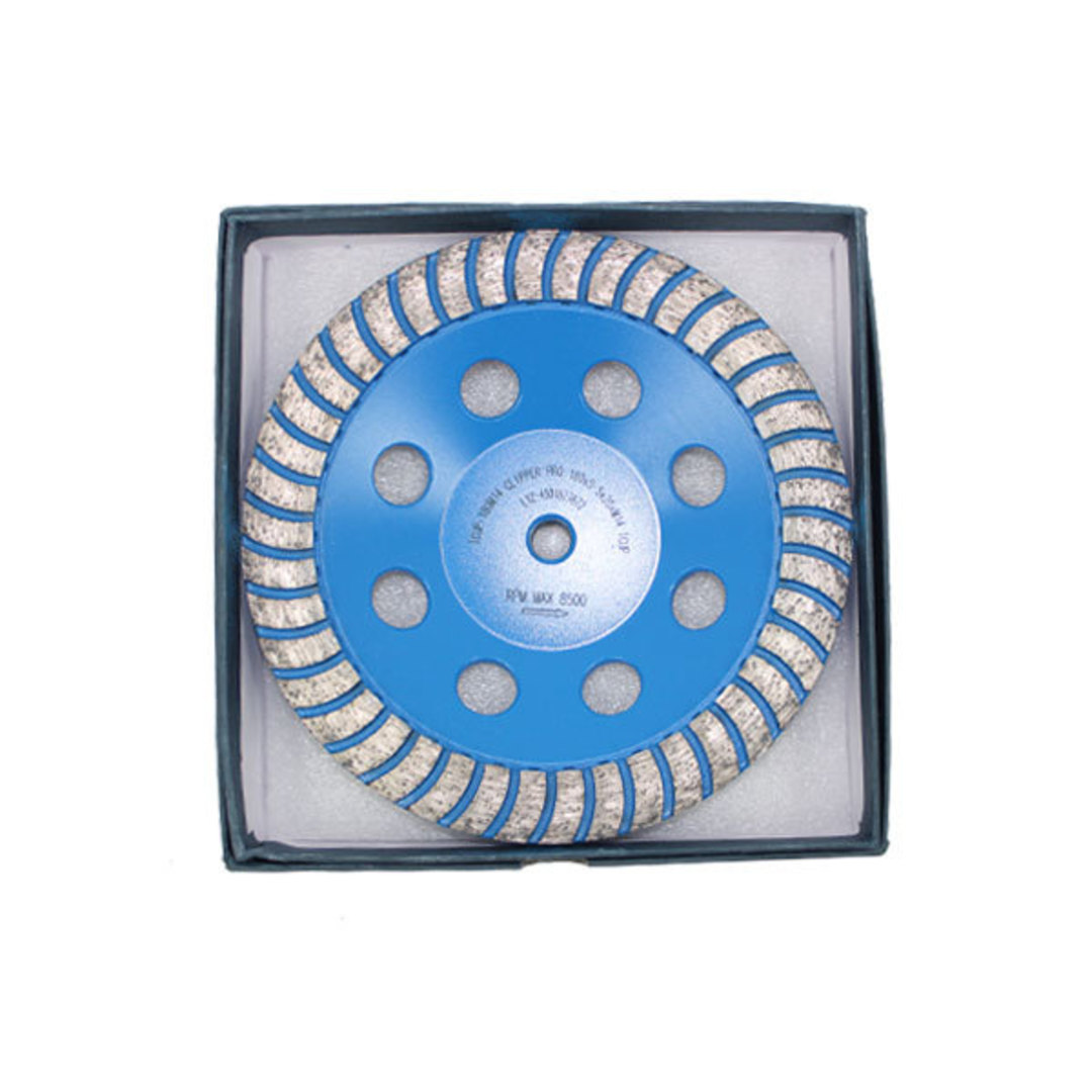 Clipper Diamond Turbo Cup Grinding Wheel image 0