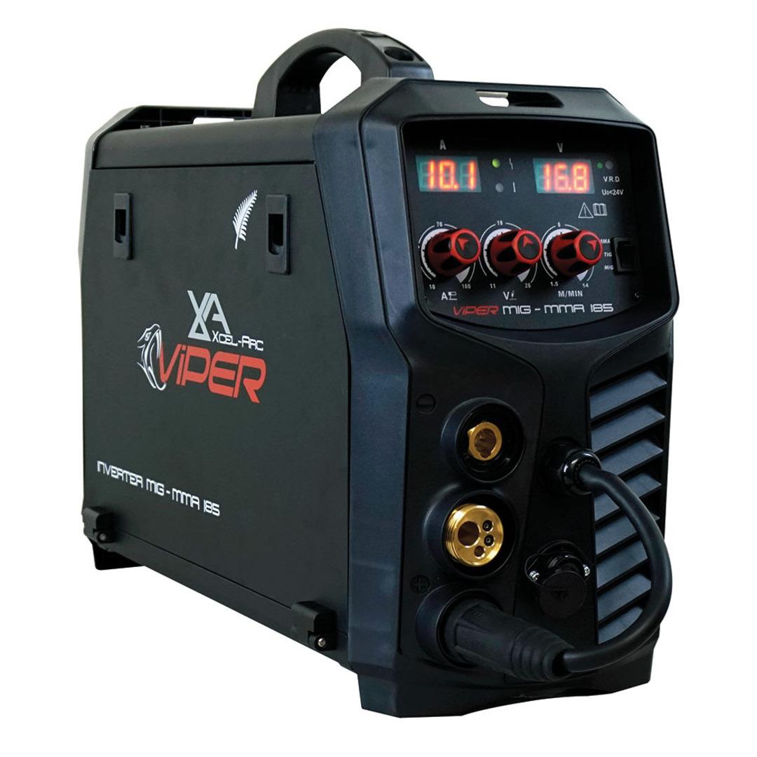Viper MIG185 MIG/MMA/TIG Inverter Welder image 0