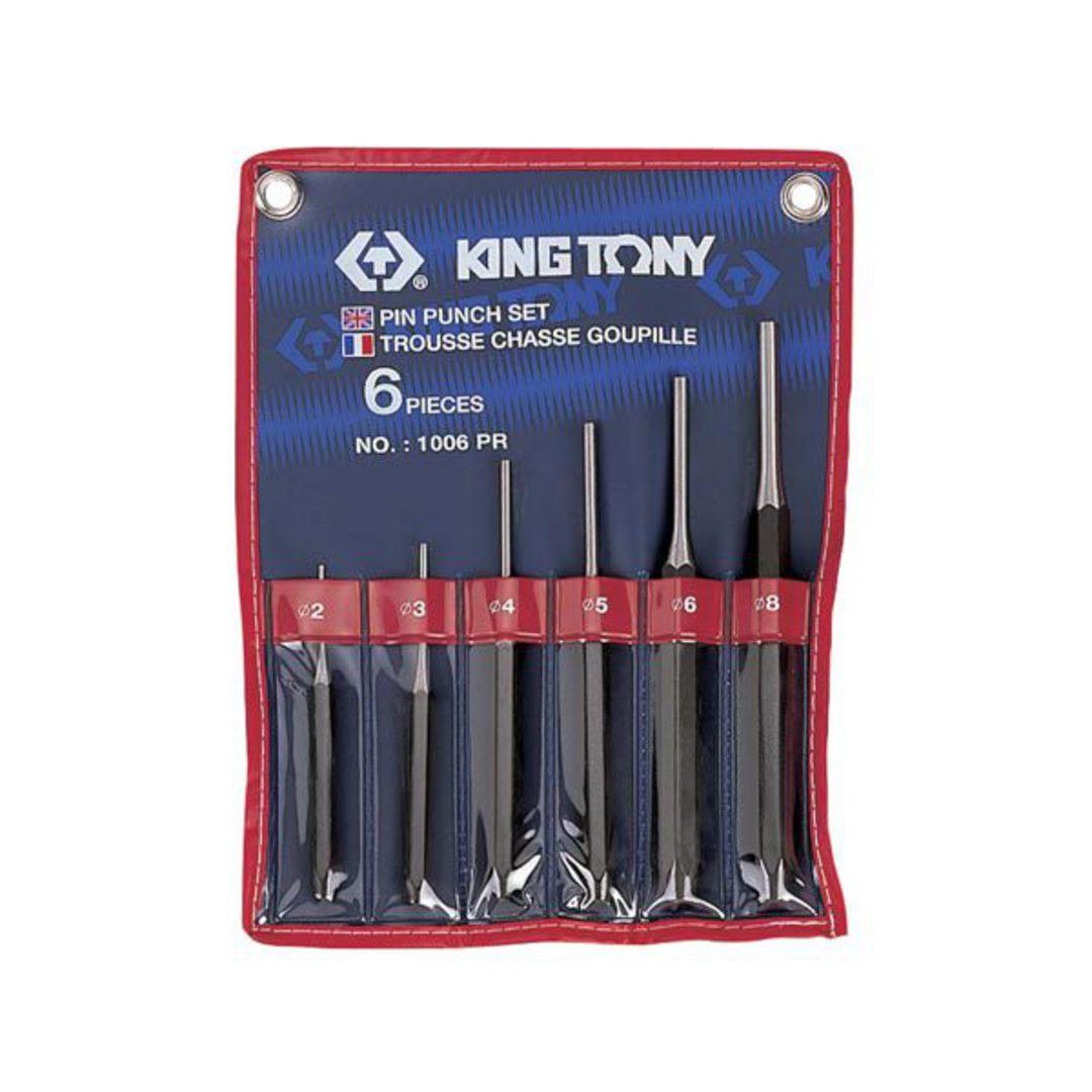 King Tony 6pc Pin Punch Set image 0