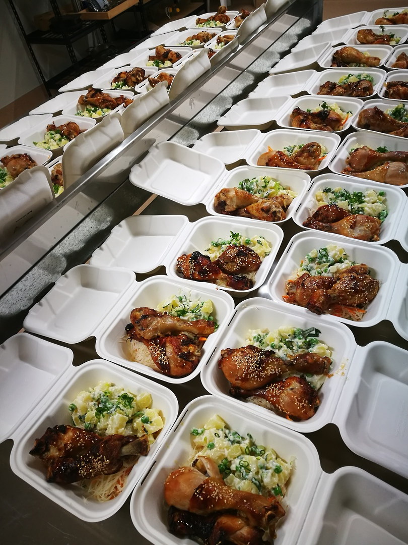 Pre-packed Individual Corporate Gourmet Meals (for orders of 20+) image 1