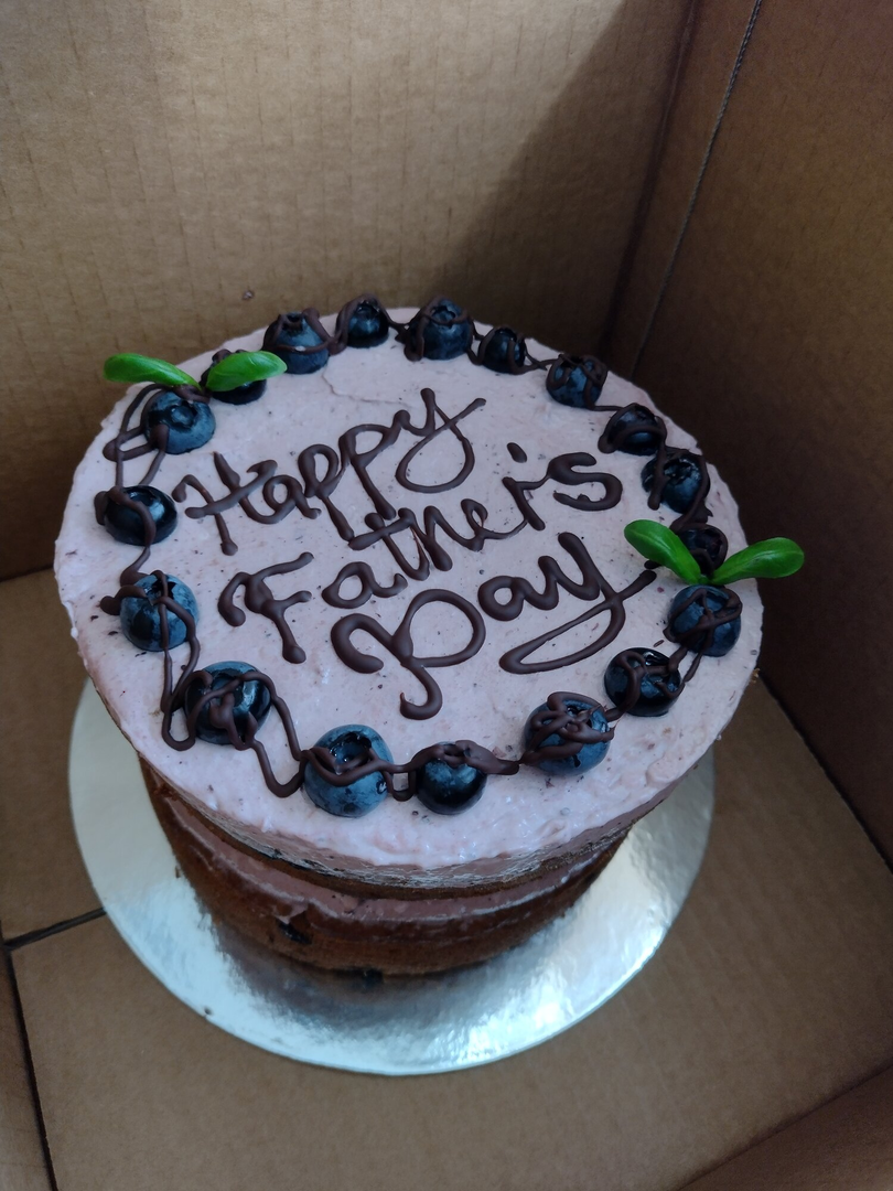 Celebration Vegan Cakes with Writings image 0