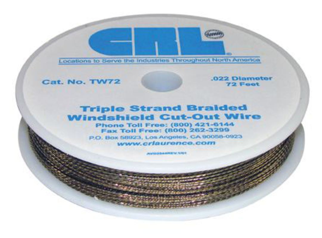 CRL WINDSCREEN CUT OUT WIRE - GOLD BRAID image 0