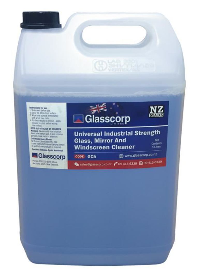 UNIVERSAL GLASS CLEANER - 5L image 0