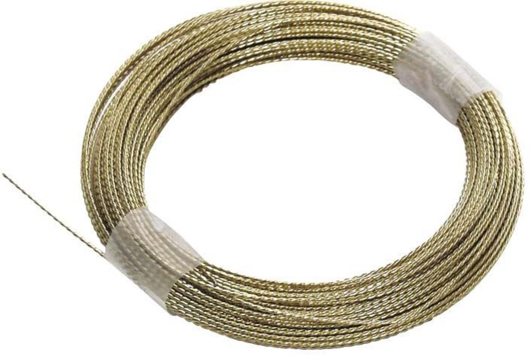 BRAIDED CUT OUT WIRE - GOLD  -21.95M image 0
