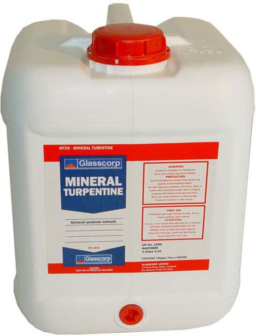 MINERAL TURPENTINE - 20L image 0