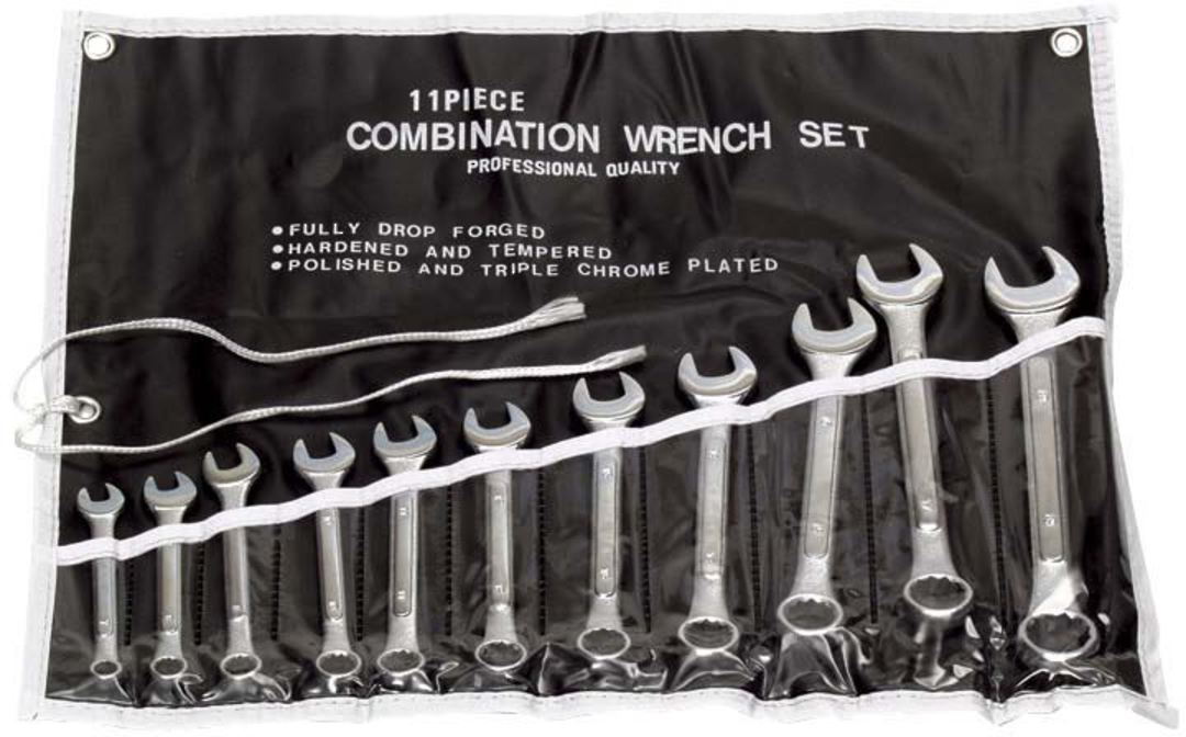11 PIECE SPANNER SET - IMPERIAL image 0