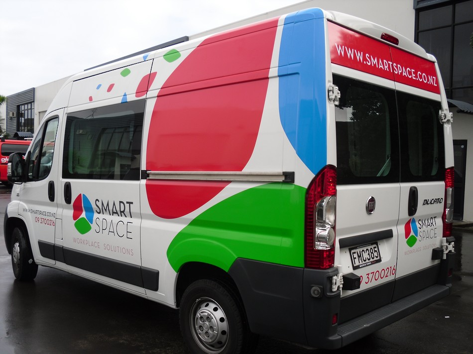 Smart Space Branded Work Van