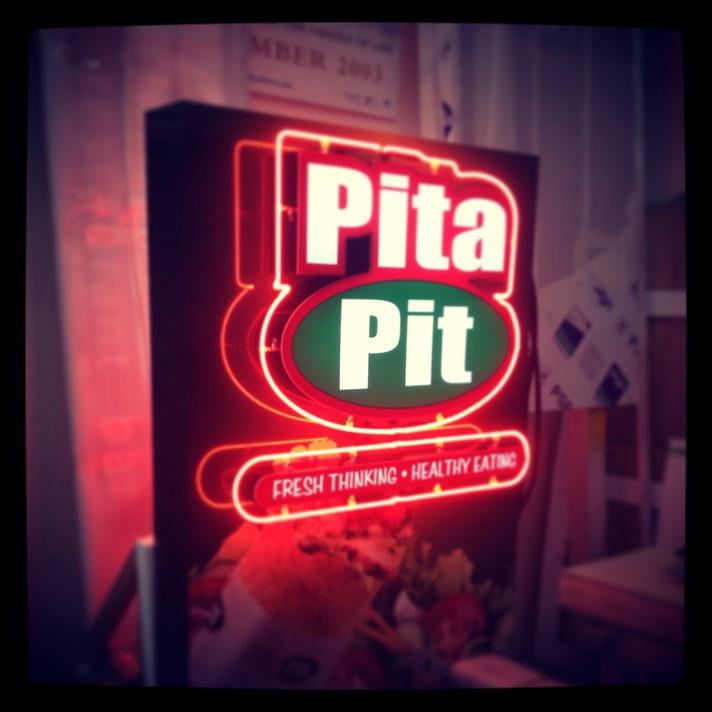 Neon Retail Sign - Pita Pit
