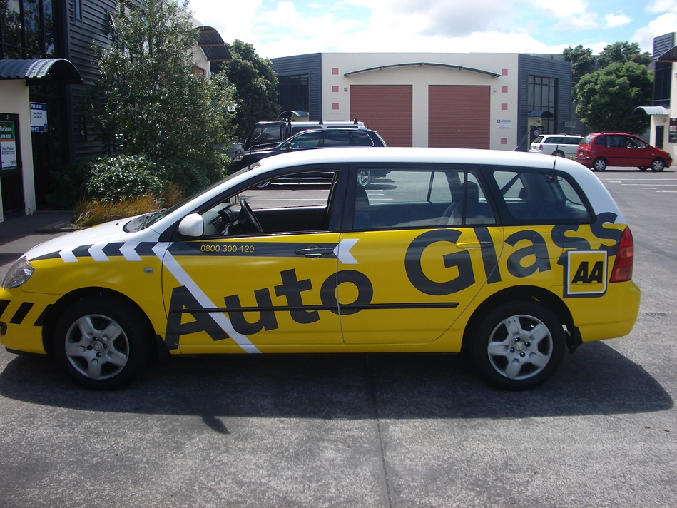 Company Branded Car - AA Autoglass #1