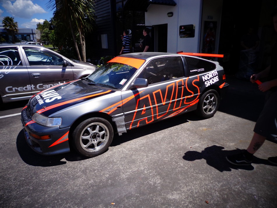 Avis Branded Race Car