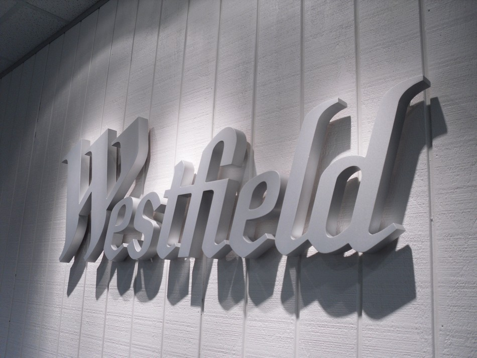 Shopping Mall Signage - Westfield