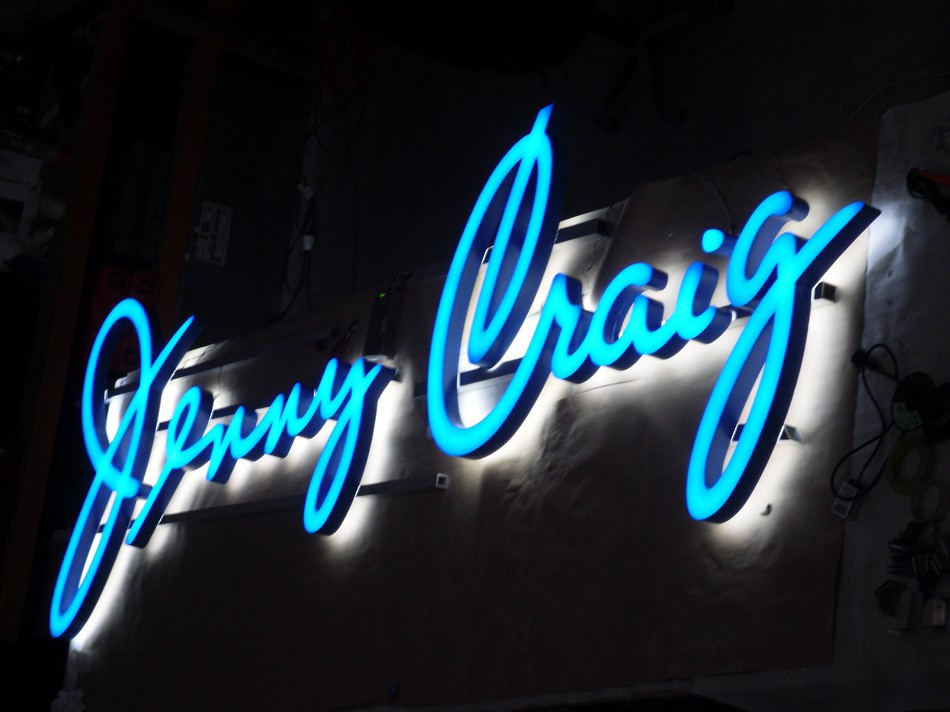 Backlit Lightbox Sign - Jenny Craig