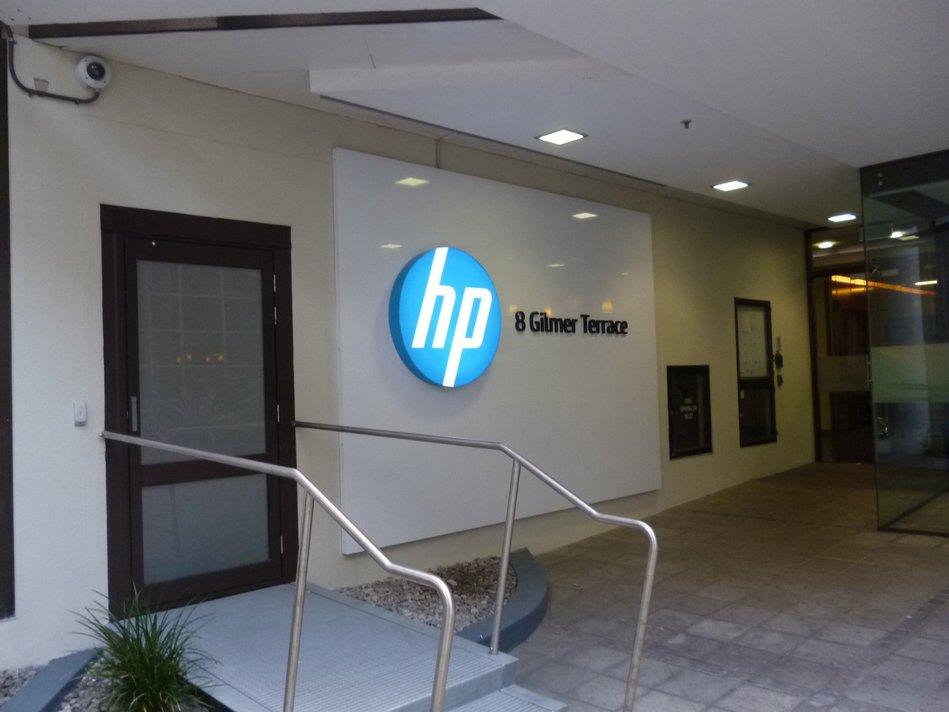 HP Backlit Sign